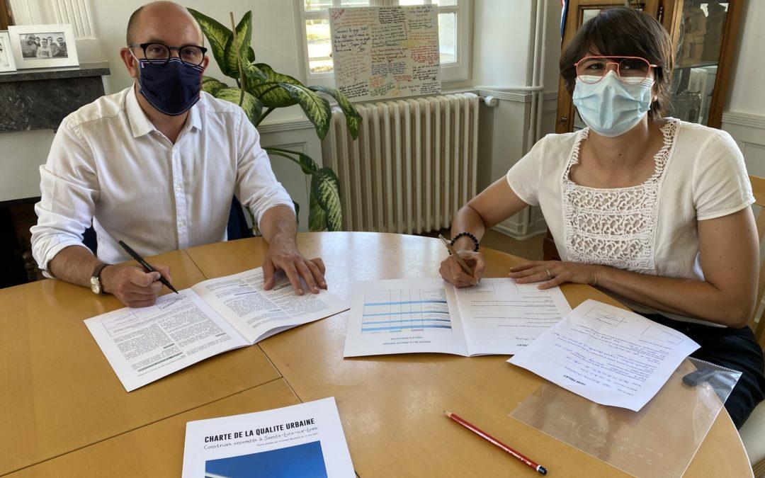 La première charte de qualité urbaine signée